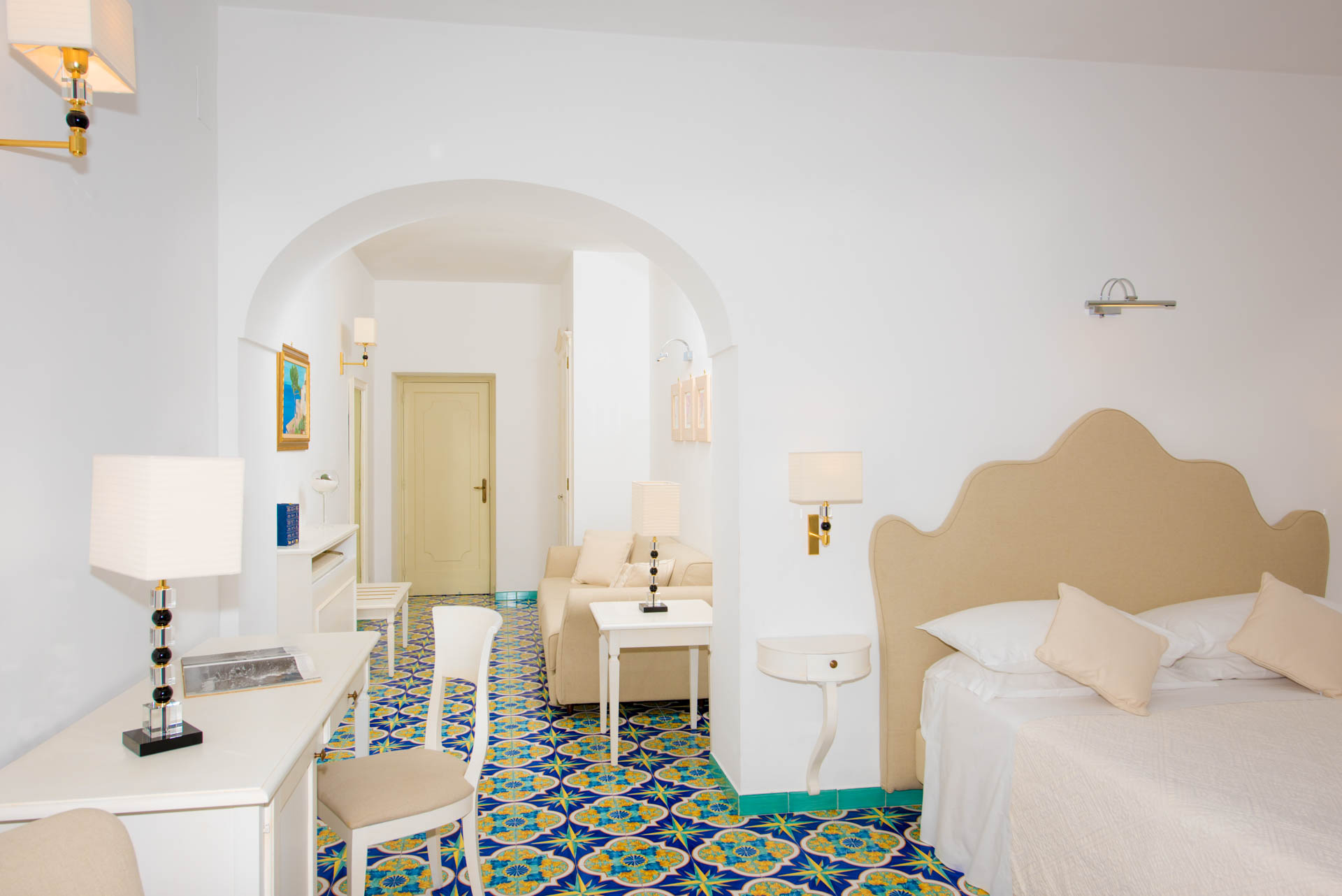 Junior Suite Room - Hotel Savoia Positano