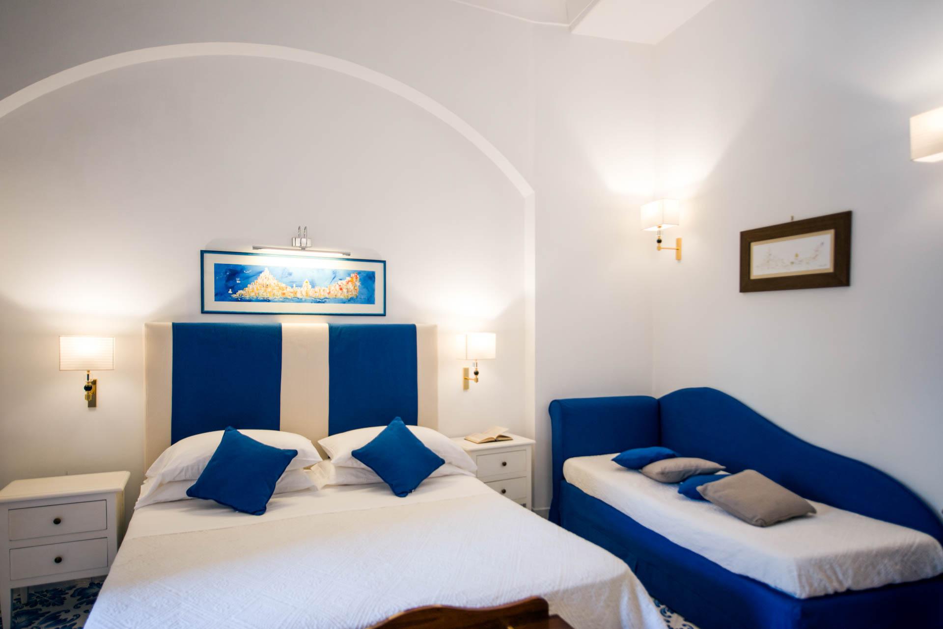 Triple Deluxe Room - Hotel Savoia Positano