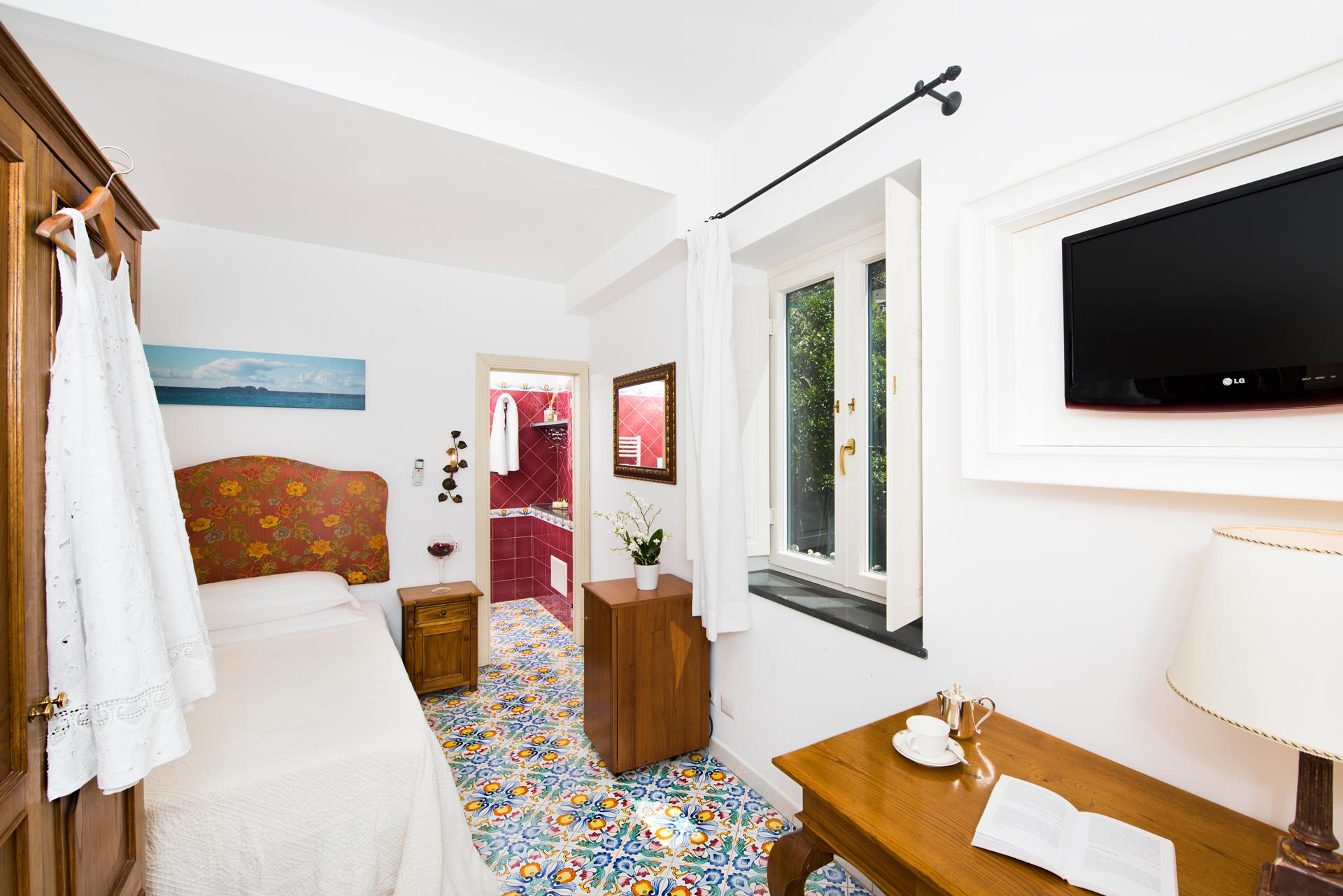 Single Room - Hotel Savoia Positano