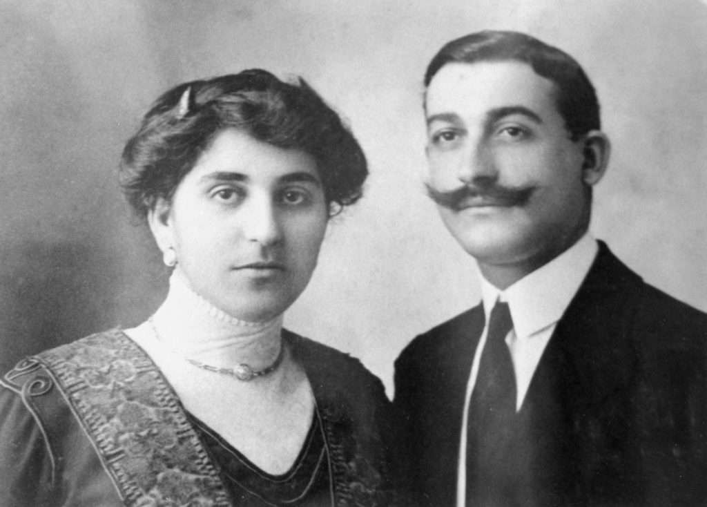 Michelina and Pietro D'Aiello 1912