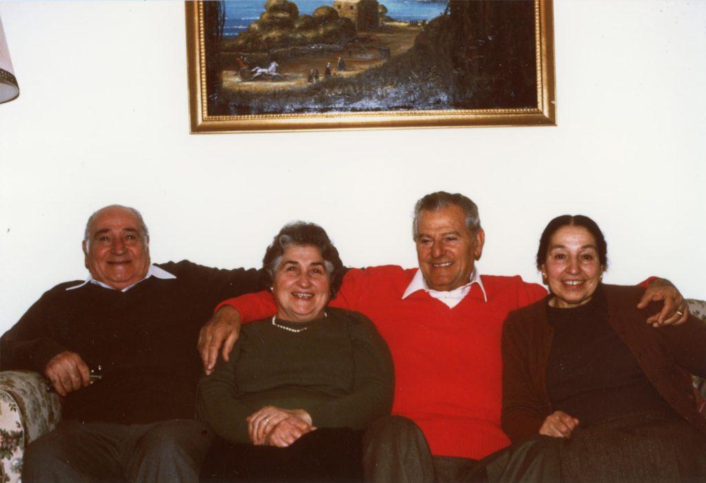 Vito, Maria, Raffaele, Carolina 1986